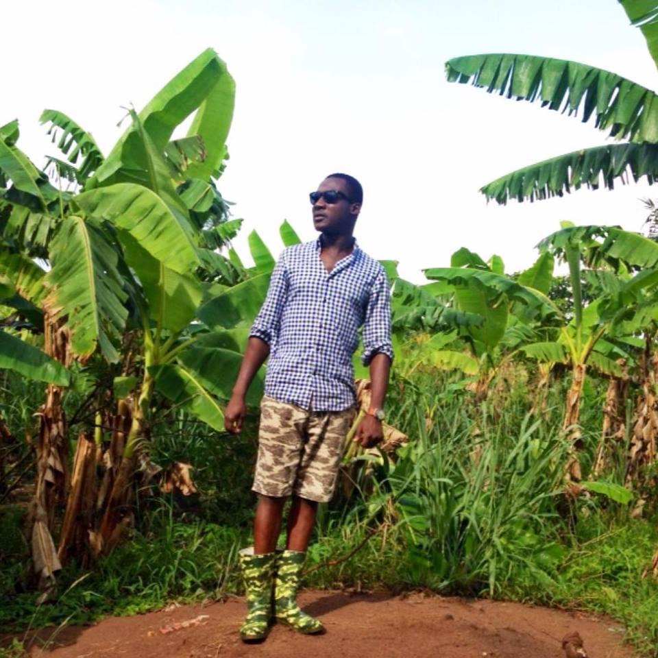 at work in Ghana