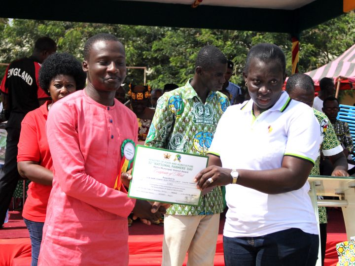 Agro Mindset Adjudged 2016 Best Poultry Farm At Afigya Kwabre District